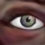 speed art eyeball by TrojanMan87