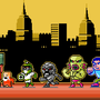 Abobo vs NES world by ionrayner