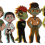 The Skyrim Chibis by TheRaspberryFox