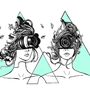 All seeing digital eye sisters by serenekitchen
