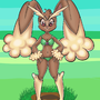Lopunny by stubbornstallion