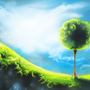 Green Landscape by Izzy-A