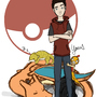 Pokémon Trainer TJ by FallenMorning