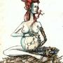 pregnant robot by flf3030