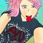 Pink Hair by attak1616