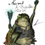 Kermit the Shaman of Ehlonna by ZleapingBear