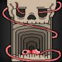 Pixel Skull by Miroko