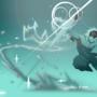 Hero in Blue by CartoonCoffee