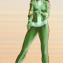 rogue green costume