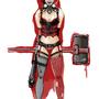 Harley Quinn - Sketch by illustrationoverdose