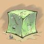Gelatinous Cube by Xaltotun