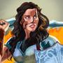 Lady Sif- Jamie Alexander by GraphiteSamurai