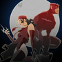 Daredevil/Elektra by kian-newgrounds