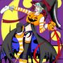 Samhain, Halloween Sprite by Necrobern