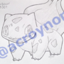#001 - Bulbasaur by Acroy