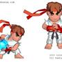 Chibi Ryu by sanhueza