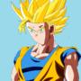 SSJ 2 Goku by Maltos