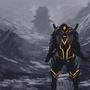 Cyborg samurai by wartynewt