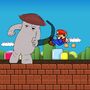 Mushroom PUNCH! In Mario by Crossburn