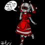 Glitch Maid *reskin by the1upmushroomman13