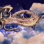 Greatest Golden Starserpent by Kamikaye