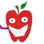 Cartoon Apple by david2347