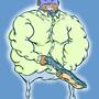 Los Bambino Man by Scribbler