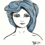 Blue Chick by bkesch