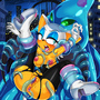 Rouge The Bat vs Chaos by TheShadling