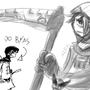 twin scythe by Alef321