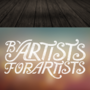 By Artist For Artist Logo by AshenRogue