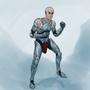 Super Bald Armor Man by IronAlligator