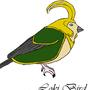 Loki Bird (digital) by CrimsonThrall