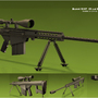 Barret .50CAL Sniper Rifle by capsbeats