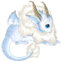 Ice baby dragon