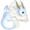 Ice baby dragon