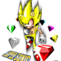 Fleetway Super Sonic II by MylesAnimated