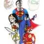 Justice League by CERVANTESCARTOONIST