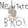Meditation Man by CanuckyCheez