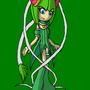 Sonic Mew Mew Cosmo by Skye-Izumi
