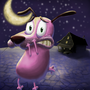 Courage the cowardly dog by Taburah