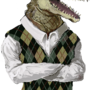 Argyle Alligator by Syringes