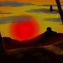 Oriental Sunset by joelatkinson