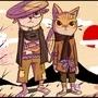 Inu and Neko by ChazzForte