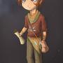 Traveler boy by 0JLFB0