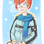 Snow and Red Hair by Lucozeid