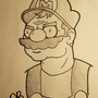 Angry Mario - Ink by EmuToons