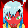 Demon girl Neikan by clayton1313