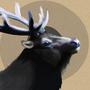 Circles & Elk by ZestyNoodles
