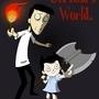 Jerimia's World Poster by ScreamingLadybug
